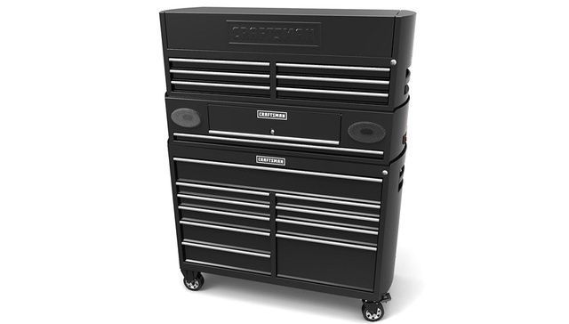 Craftsman's Bluetooth Toolchest Lets Grease Monkeys Keep In Touch