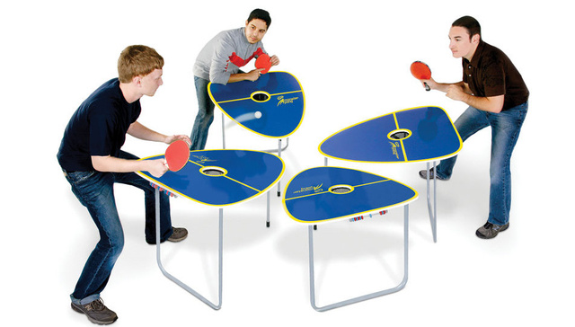 Crazy Four Player Ping Pong Adds Elements Of Pool