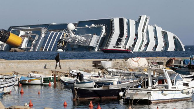 First Video and Images of the Cruise Ship Sinking In Italy Remind Me of the Titanic (Updated)