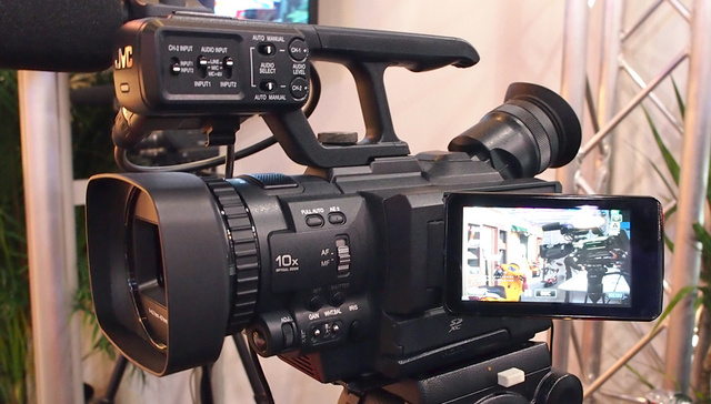 Hands On With JVC's 4K Video Camera: It Won't Break Your Back Or Your Budget
