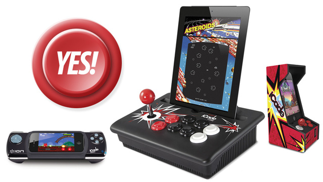 The Rad iCade Mobile, iCade for iPhone and iCade Core Just Need Rad Games