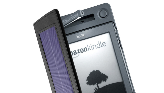 SolarKindle Cover Frees Your eReader From Charging Cables For Three Months