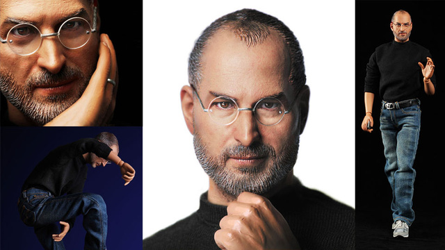 New Steve Jobs Action Figure Is So Good It's Freaky
