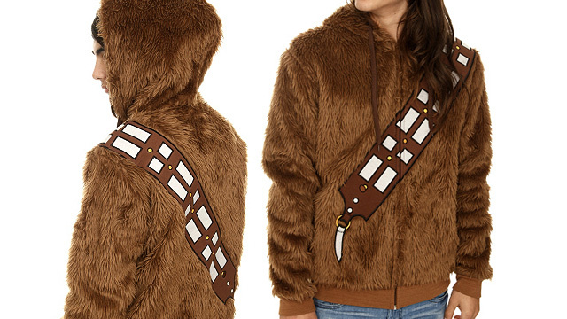 Stay As Warm As a Wookiee In This Hoodie