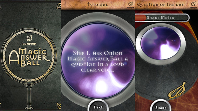 The Onion's Magic Answer Ball App Is Snarky Wisdom on the Go