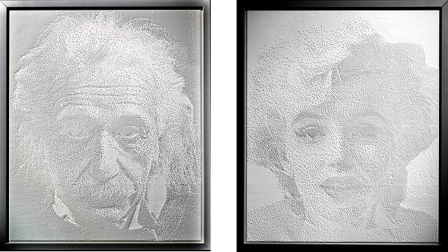 Watch This Stunning 3D-Printed Shadow Portrait Transform from Einstein to Marilyn Monroe