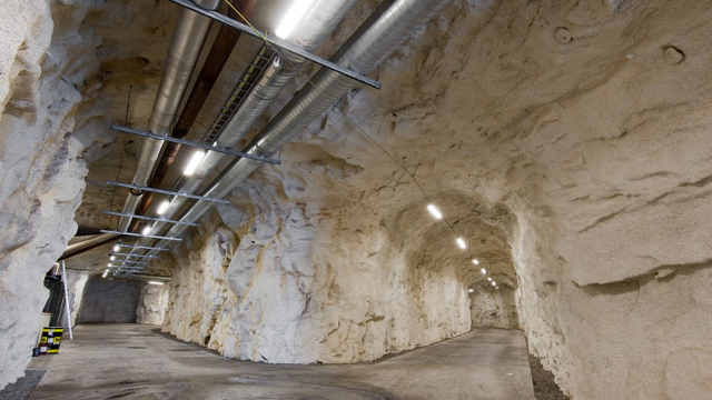 This Norwegian Data Center Is Built in a Cave and Cooled by Fjords