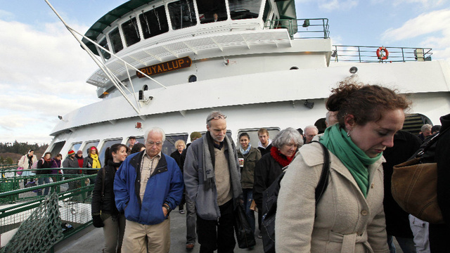 Americans Are So Fat, Washington State Ferries Have to Carry Less of Them
