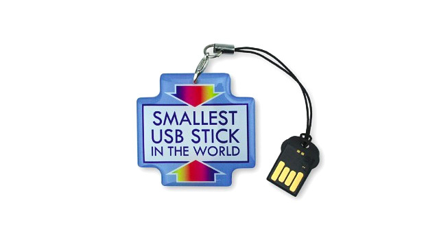 World's Smallest Flash Drive Makes It Even Easier To Misplace 16GBs