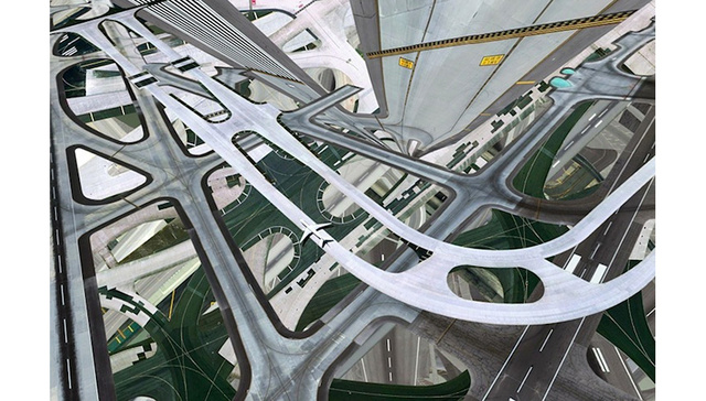 I Can't Look At These Warped Airport Photos Without Getting Dizzy