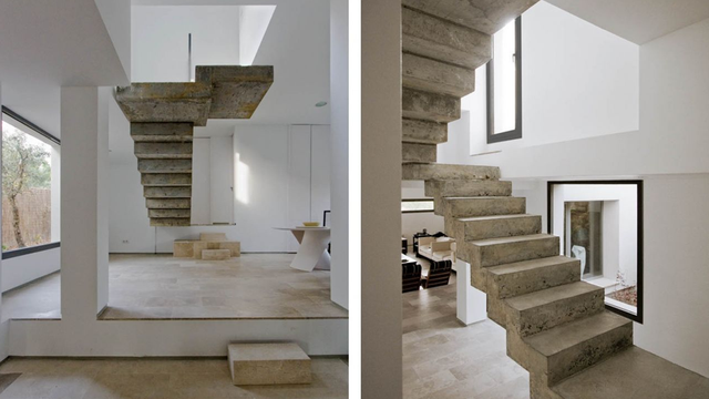 These Seemingly Floating Stairs Belong In a Dalí Painting