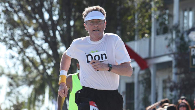 A Miracle Drug Keeps This 70-Year-Old Cancer Patient Running Marathons