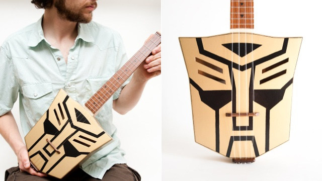 Autobot Transformer Ukulele Does Not Turn Into a Fire Truck