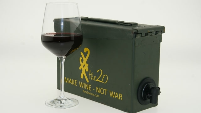 Ammo Canister Wine Box Won't Explode Your Liver