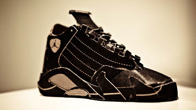 Air Jordans Made Out of a Pizza Box Are Cooler Than Whatever Shoes You're Wearing