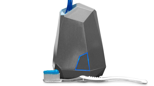 What Does This Stealth Toothbrush Sanitizer Need To Hide From?