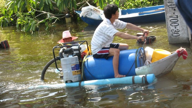 The Ingenuity of Thailand During Their Massive Flood Is Very Impressive