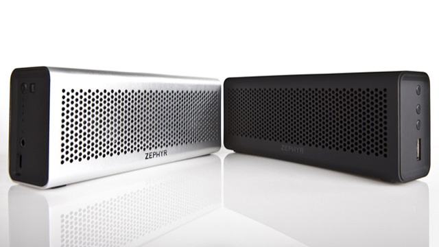 Zephyr Bluetooth Speaker Has Battery Life To Spare and Share