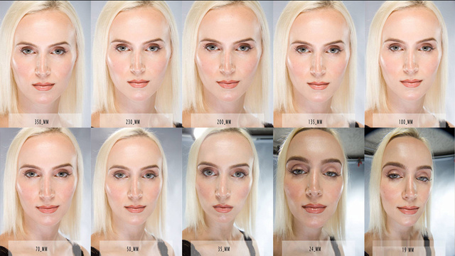 This Image Shows How Camera Lenses Beautify or Uglify Your Pretty Face