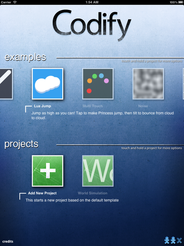 Codify App Gallery