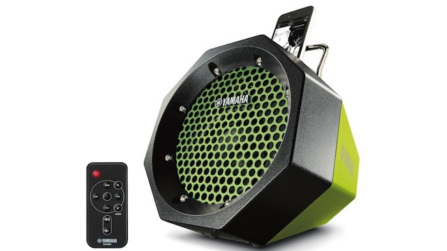 Yamaha PDX-11 iPod Dock: Speaker Big. Shell Rugged.