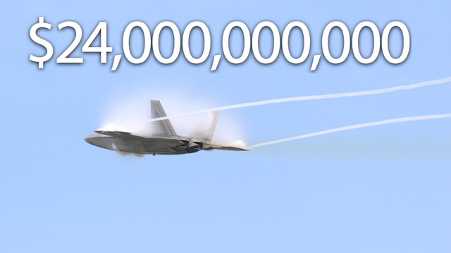 The Sad Odyssey of the F-22: America's Big Broken Toy