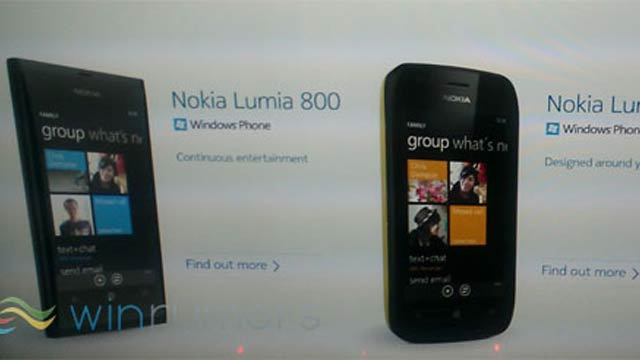 Leaks: These Are the Windows Phones Nokia Is Announcing Tomorrow