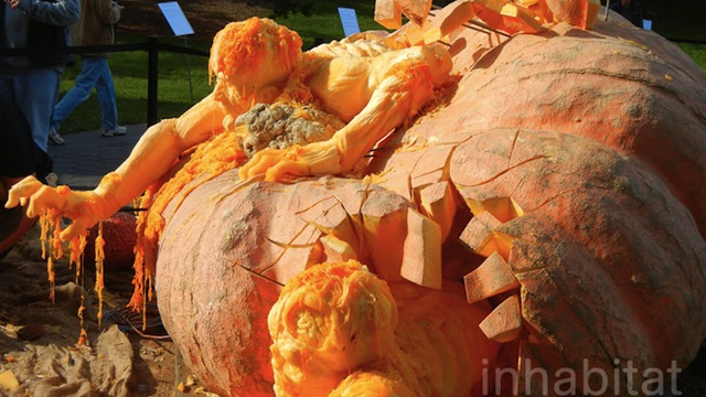 The World's Largest Pumpkin Carving Is Also the Most Impressive