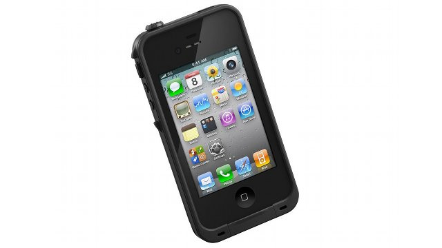 The Waterproof, Dustproof, Shock Proof iPhone 4S Case
