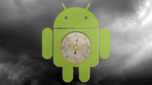 Why the Barometer Is Android's New Trump Card