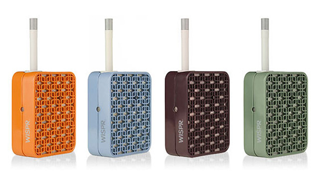 The WISPR Vaporizer Looks Like a Retro Transistor Radio