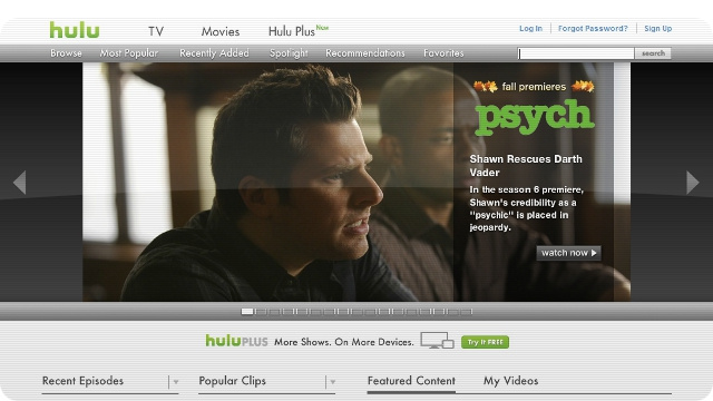 Hulu's No Longer Available to the Highest Bidder