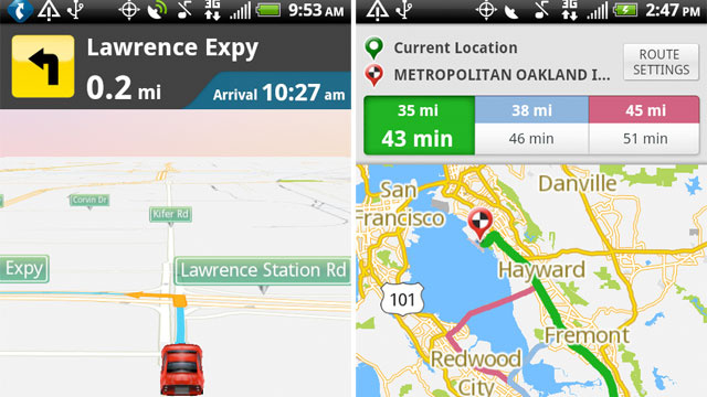 New TeleNav For Android Will Help You Get To Work On Time