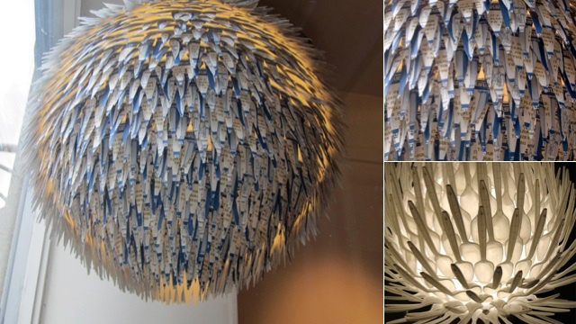 Recycling as Art and Lighting