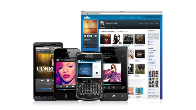 Rdio's Freemium Service Is Here