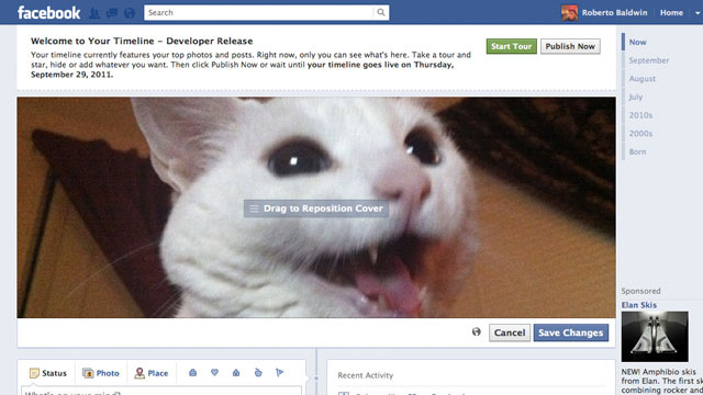 How to Get Facebook's New Timeline Now