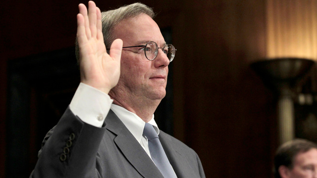 "Eric Schmidt Swears Google Won't ""Screw Up"" Android"