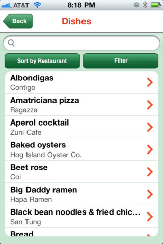 Chef's Feed App Gallery