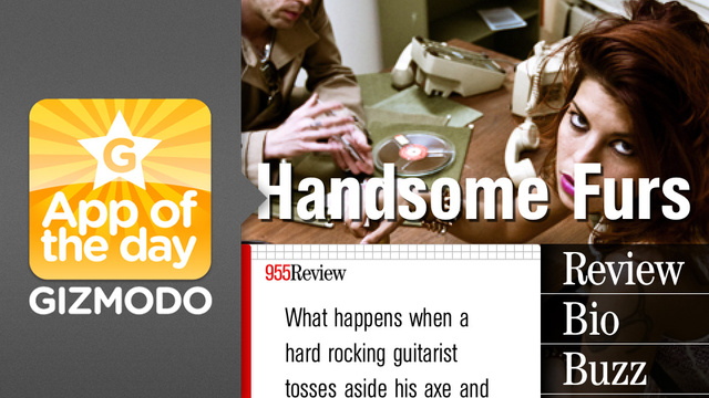 Band of the Day for iPhone: It's Like MySpace Music, but In a Good Way