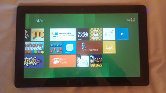 Windows 8 gallery