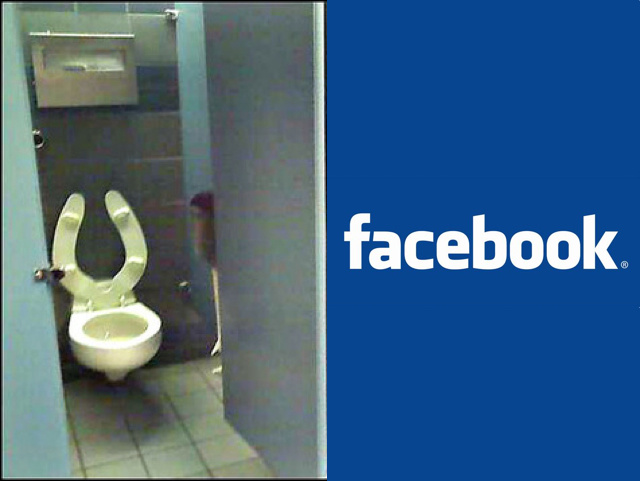 "Facebook Edges Out Toilets On Survey of ""Things You Can't Live Without"""