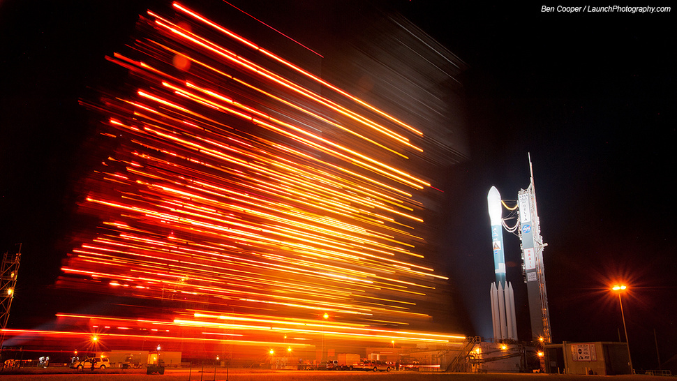 This Is What Spacecraft Look Like Before Lift Off
