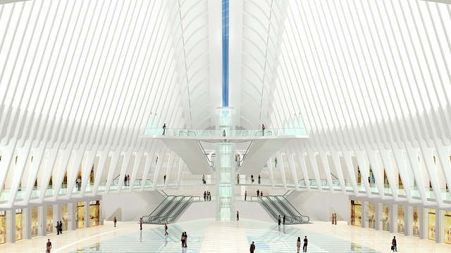 How New York City Built a Massive $3.8 Billion Underground Transit Station in the WTC's Footprints