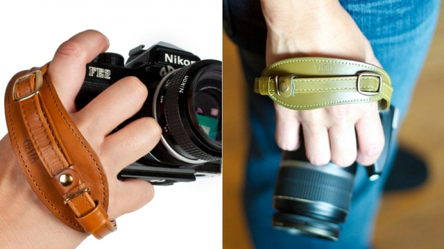 Photojojo's Leather Camera Strap Makes Your DSLR Look Like Indiana Jones'