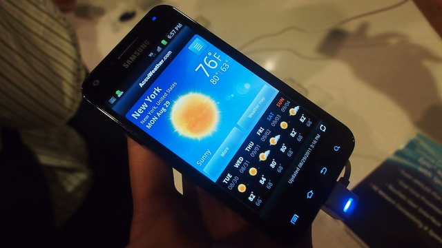 Samsung Galaxy S II Hands-On Gallery