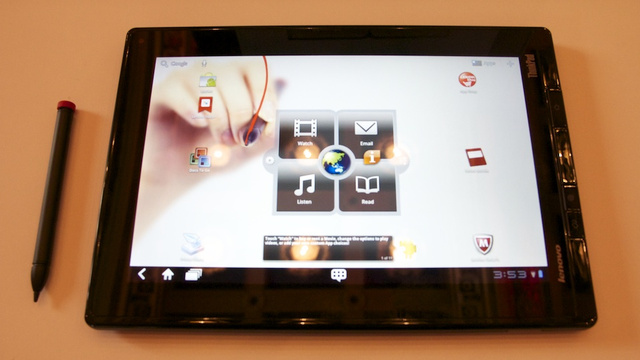 Lenovo ThinkPad Tablet Comes A-Courtin' Business Folk
