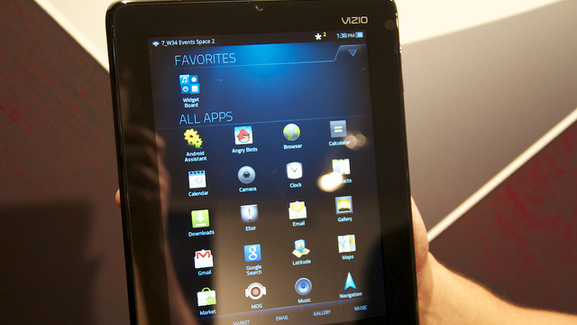 Vizio's Android Tablet Is the First to Offer Hulu Plus