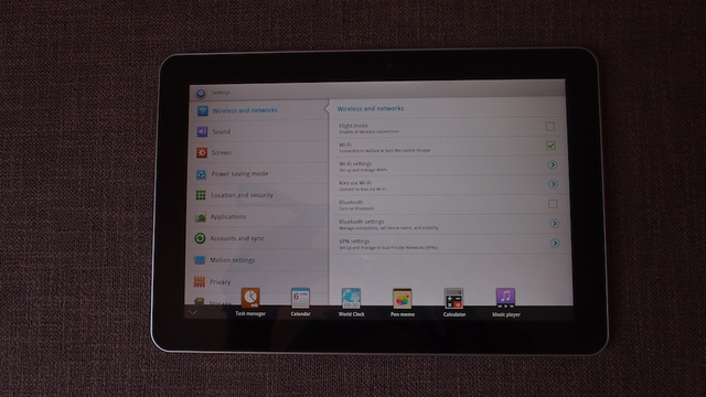 Galaxy Tab 10.1 Touchwiz UX Gallery