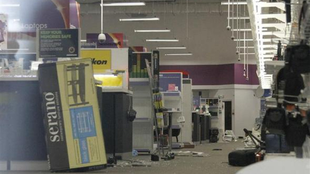 Scenes from a Riot: Electronics Stores Sacked by British Looters
