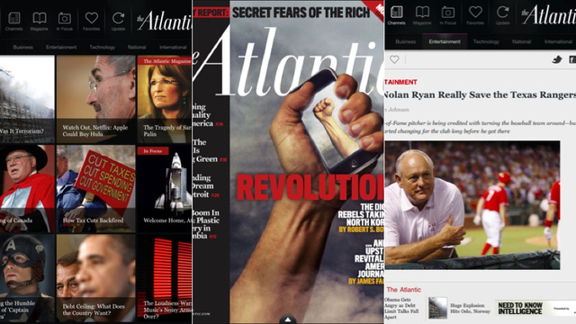 The Atlantic's New iPad App Combines the Magazine, the Website and The Atlantic Wire in One